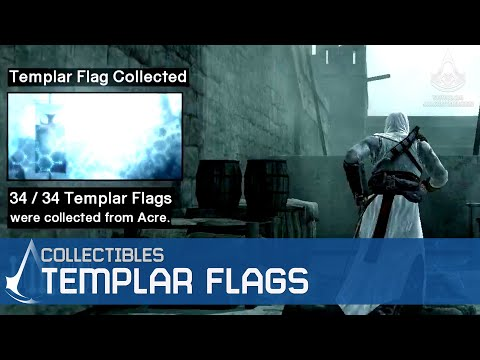 Assassin's Creed - Side Memories - Templar Flags Locations