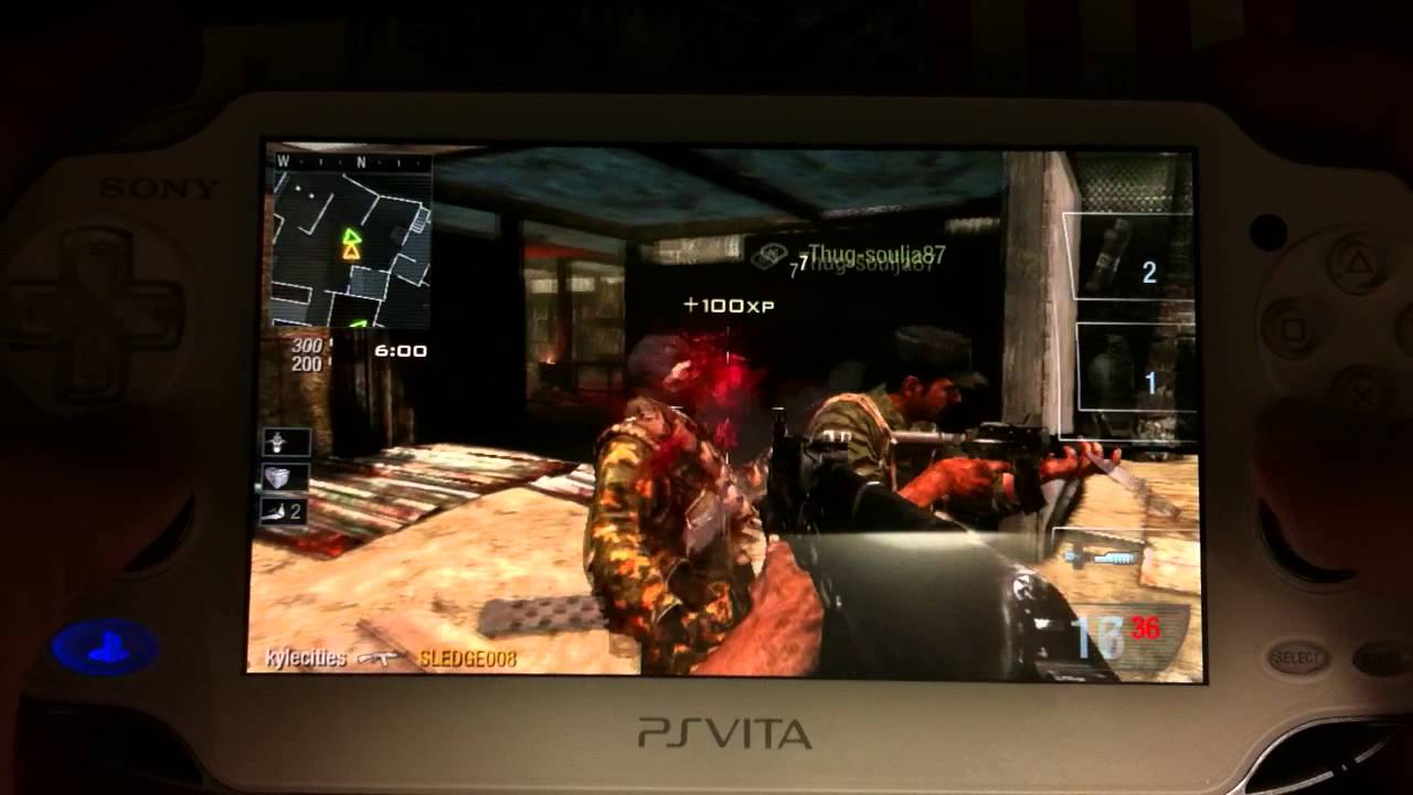 Ps Vita Cod Zombies Playstation Vita Call Of Duty Black Ops Declassified Online Gameplay Initial Impressions