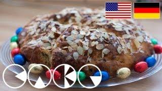 Osterbrot Rezept --- Easter Bread Recipe