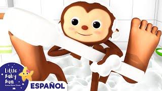 Canción del Baño | Little Baby Bum en Español | Canciones Infantiles | Dibujos Animados