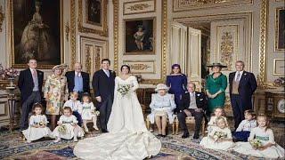 شاهد: الصور الرسمية لزفاف الأميرة أوجيني حفيدة الملكة إليزابيث الثانية…