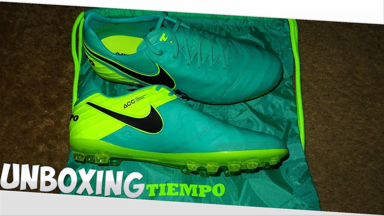 Sensación hidrógeno detrás  Nike Tiempo Legend 6 AG - Unboxing - Euro's 2016 (Spark Brilliance Pack) -  YouTube