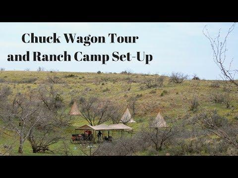 Cowboy Cooking: Chuck Wagon and Ranch Camp Set-Up