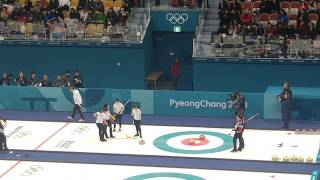 직캠 2018 평창 올림픽 여자 컬링 대한민국:일본 준결승 11엔드(연장전) 명경기
