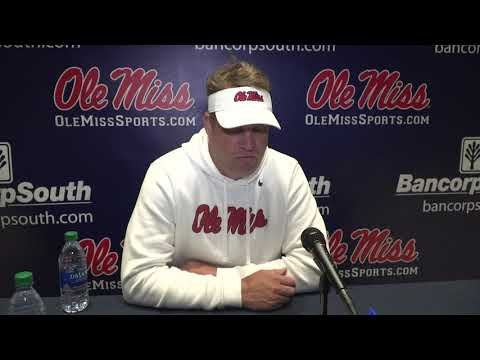 Football - Lane Kiffin Press Conference (10-24-20)