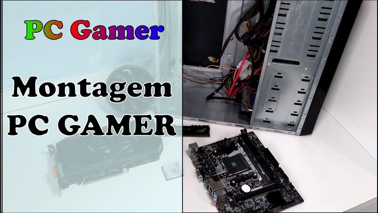 Montando PC Gamer Aliexpress barato - Montagem