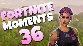 THE BEST PREDICTION YOU'LL EVER SEE! | Fortnite Daily Funny and WTF Moments Ep. 36