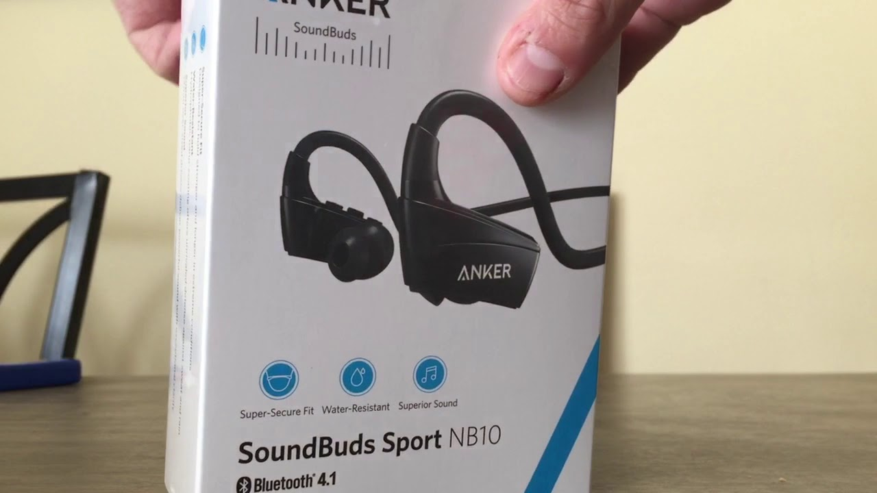 57ab3be138e Unboxing anker soundbuds sport nb10 - YouTube