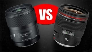 "Lens Comparison: Sigma 35mm f/1.4 ""Art"" vs. Canon 35mm f/1.4L USM"