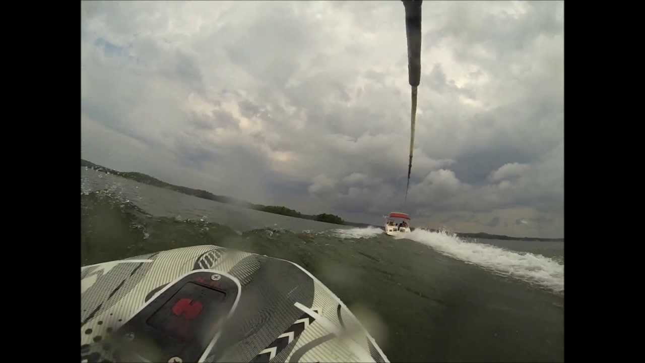 lake martin kneeboarding 360 and wipeout youtube