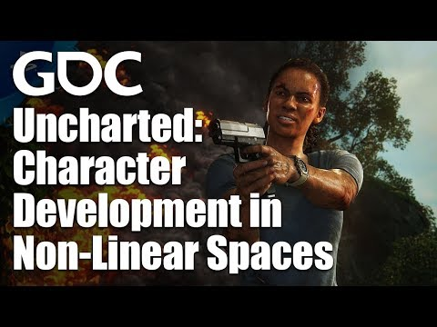 Character Development in Non-Linear Spaces: Uncharted: The Lost Legacy