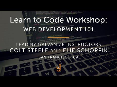 Learn to Code: Web Development 101