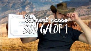 CLÉMENT PASSE SON GALOP 1 😂