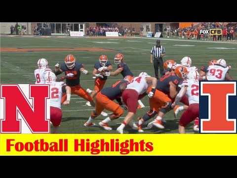 Nebraska vs Illinois Football Game Highlights 8 28 2021