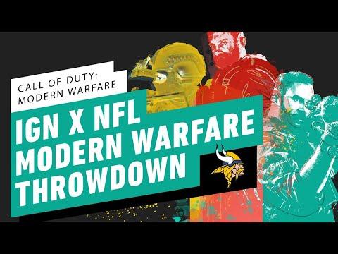IGN X NFL Call Of Duty: Modern Warfare Throwdown