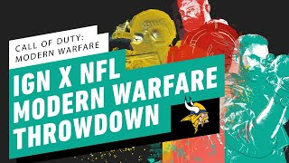 IGN x NFL Call of Duty: Modern Warfare Throwdown