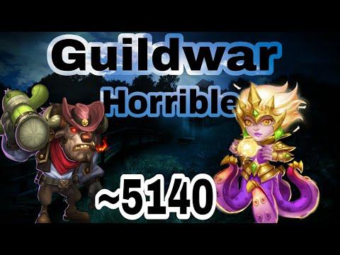 Guildwar - Mino/Cirrina/Michael   Vs BS   Thrilling Attack   Castleclash