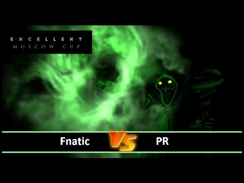 [ Dota2 ] Fnatic vs PR - Excellent Moscow Cup 2 - Thai Caste
