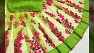 TRANDY BEAUTIFUL DESIGNER SAREES FOR WOMEN //BUY ONLINE