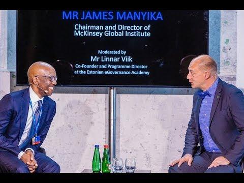 Tallinn Digital Summit –Fireside chatwithJames Manyika and Linnar Viik