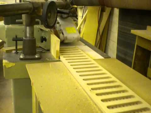Two Shapers working as one machine Woodworking at it Best! Salem Wood Products SWP