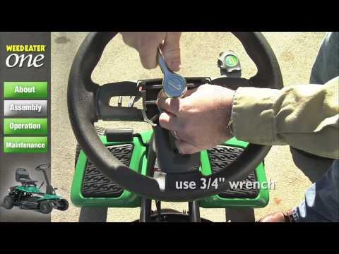 Садовый трактор WEED EATER WE261