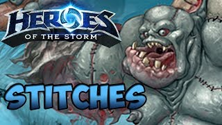 Heroes of the Storm Gameplay Commentary - Stitches