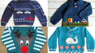 New sweater design for kids//baby sweater design//kids sweater knitting//boy knitting patterns