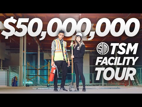 The MOST EXPENSIVE GAMING FACILITY In The World! First Look At TSM's $50,000,000 Esports Center