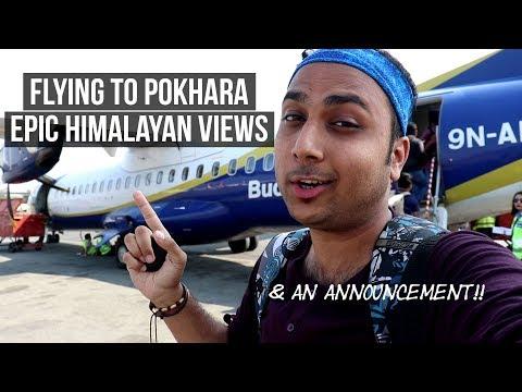 Flying To Pokhara   Indian In Nepal   Visit Nepal 2020