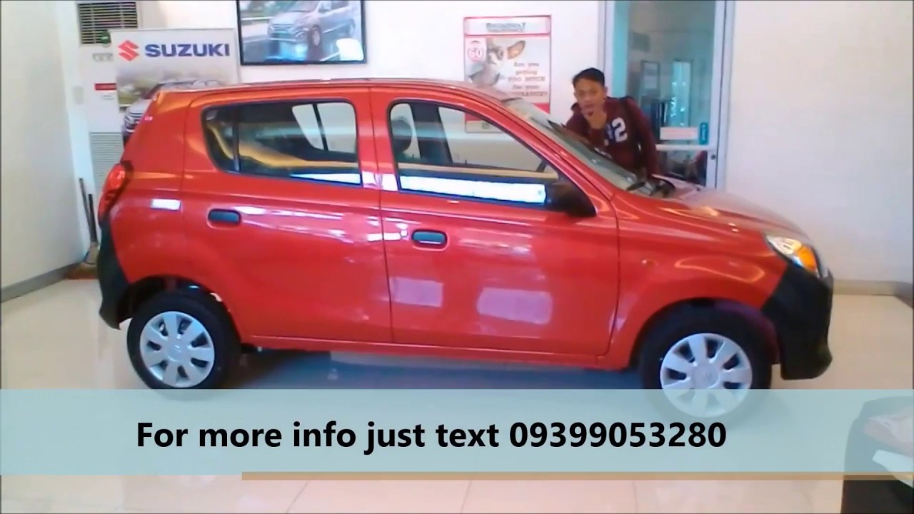 Alto 800 with Airbag and ABS - Color Red