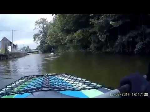 Kayaking in Yalding