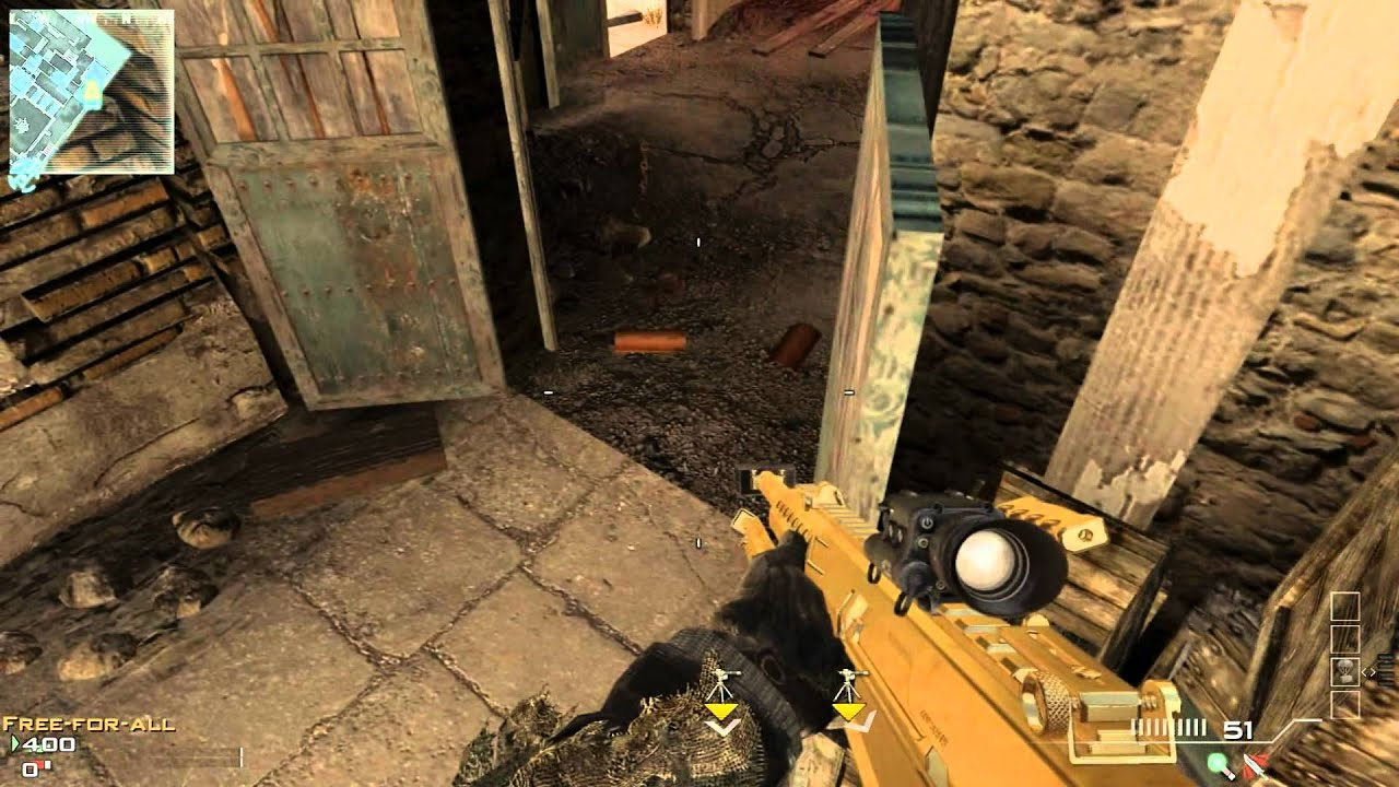 Mw3 Erosion Out Of Map Tutorial Easyway Hd Hd Youtube