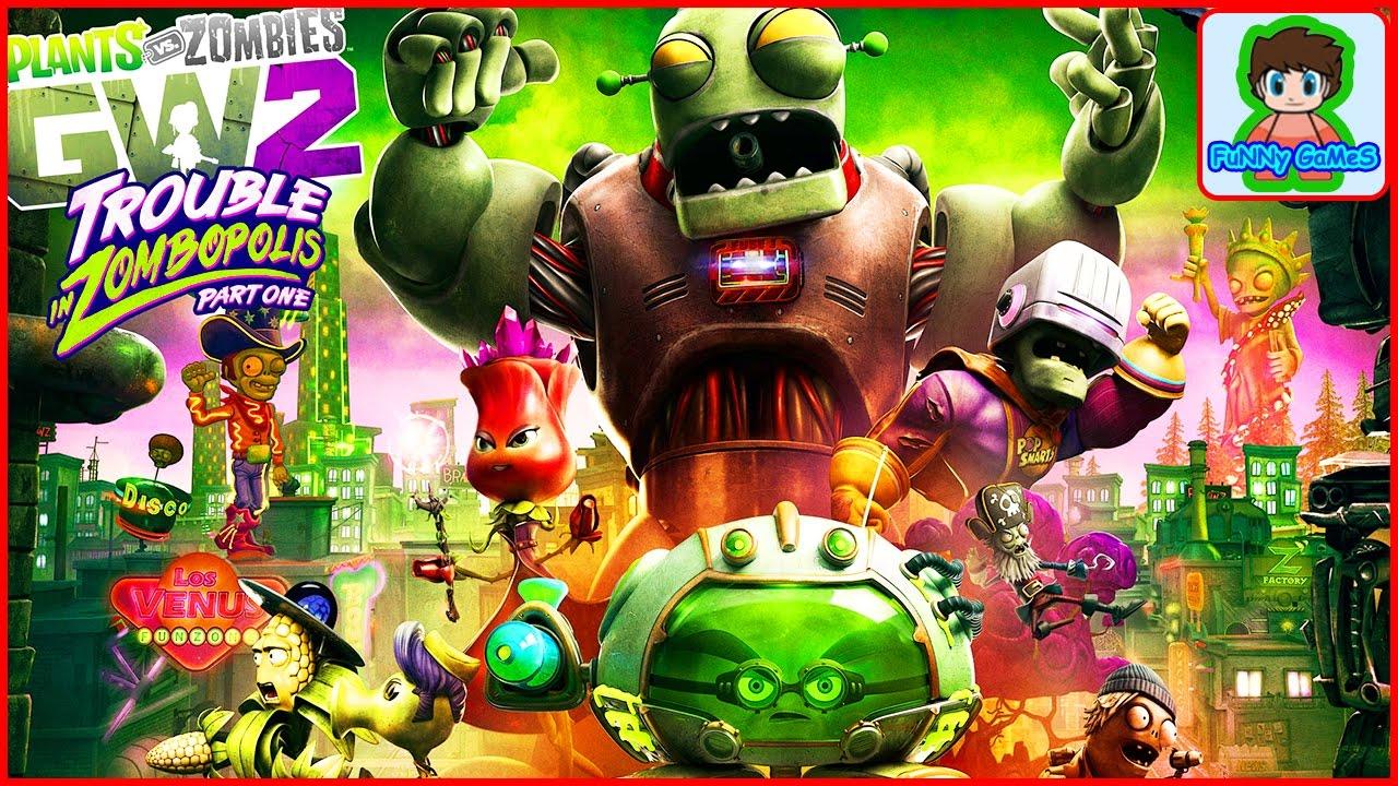 Скачать зомби против зомби садовая война.