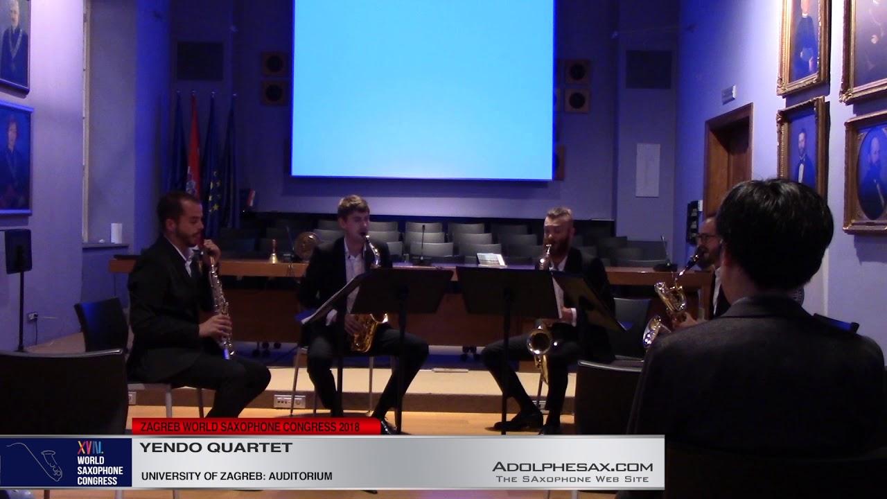 Quatuor a Cordes en sol mineur Op10 by Claude Debussy - Yendo Quartet  #adolphesax