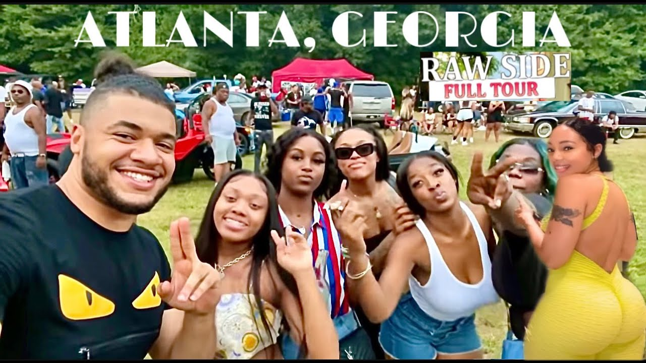 I Never Knew Atlanta, Georgia Was Like This 🤩 - Bowen Homes Hood Block Party 2021