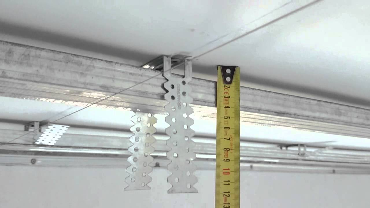 Как правильно сделать гипсокартоном потолок