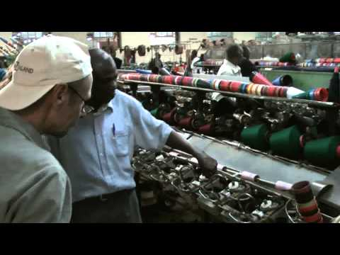 African factory - Textile factory in Kenya, Africa