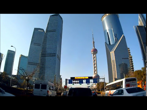 Drive Recorder in Shanghai, Lujiazui  ドライブレコーダー in 上海 陸家嘴