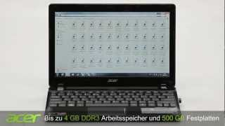 Acer Aspire one 725 Netbook