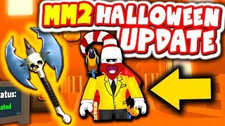 NEW ROBLOX MURDER MYSTERY 2 HALLOWEEN UPDATE!!!
