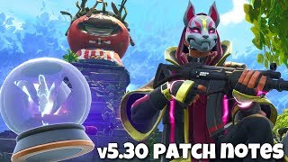 Fortnite v5.30 Patch Notes (New Tomato Temple & Rift-To-Go)