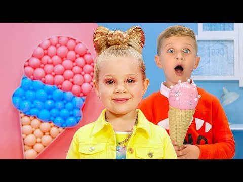 Diana And Roma - CANDY TOWN - Kids Song
