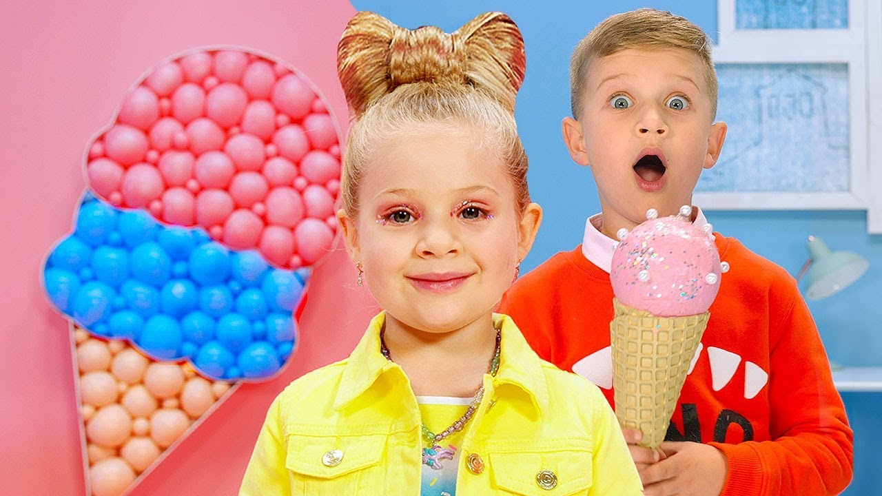 Diana and Roma - CANDY TOWN - kids song - YouTube