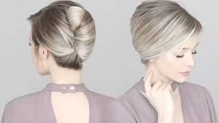 HOW TO: French Twİst Updo Hair Tutorial