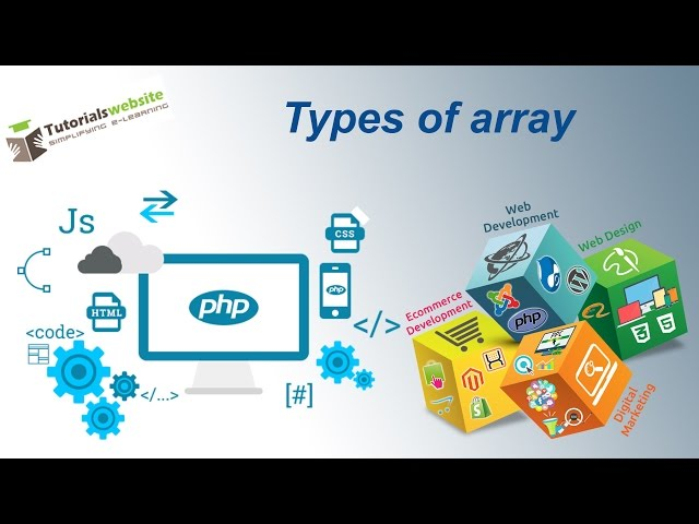 php tutorial in hindi - Types of array