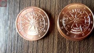 Münzrollenjagd #02 - 1.500x 1 Cent, 500x 2 Cent