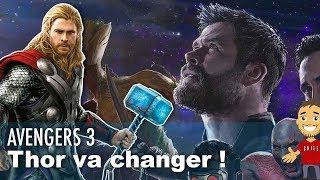 Avengers 3 : Thor va poursuivre sa «transformation radicale»