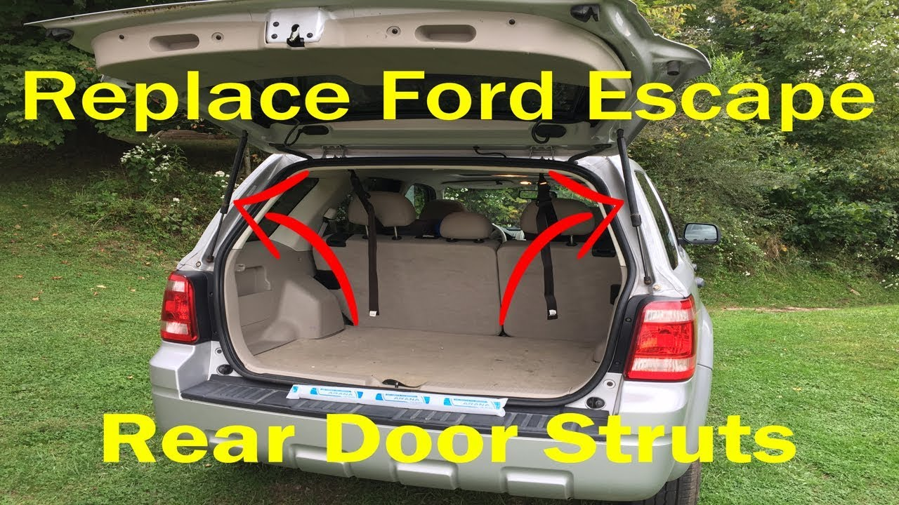 Replace Rear Liftgate Support Struts Ford Escape