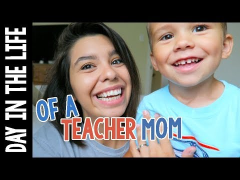 A Day in the Life of a Teacher Mom